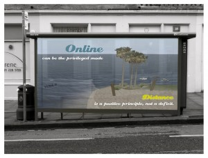 Online can be the privileged mode - image by James Lamb